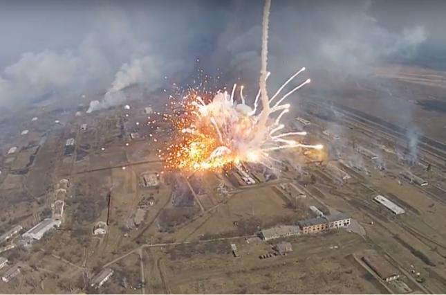 К взрывам на арсенале в Балаклее причастен украинский спецназ