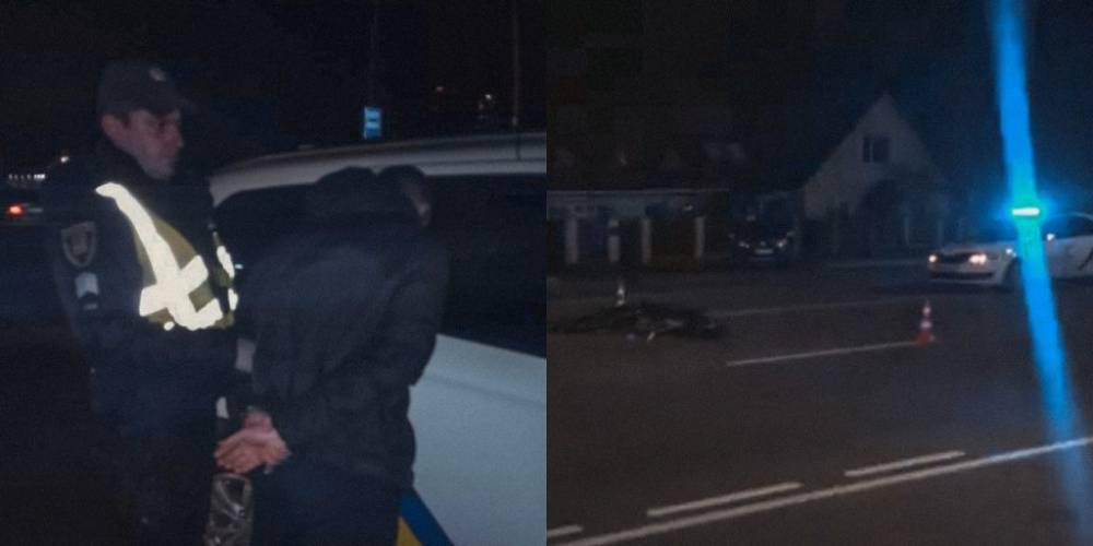 В Броварах пьяный полицейский сбил двух человек: один пешеход погиб