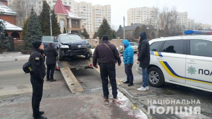 В Софиевской Борщаговке пьяный прохожий напал на патрульного