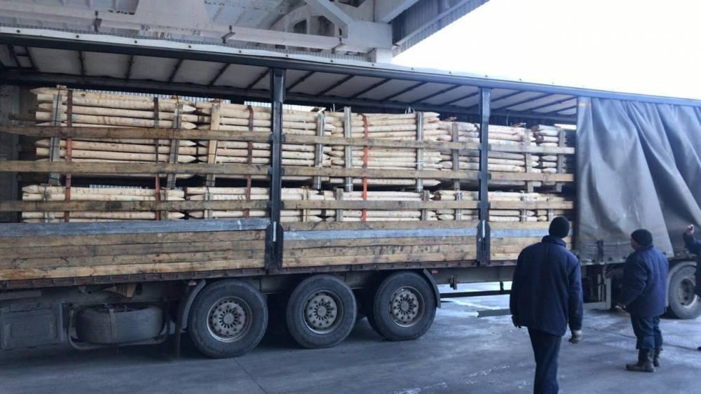 Через Киевскую таможню пытались провезти пиломатериалы на 110 тысяч гривен