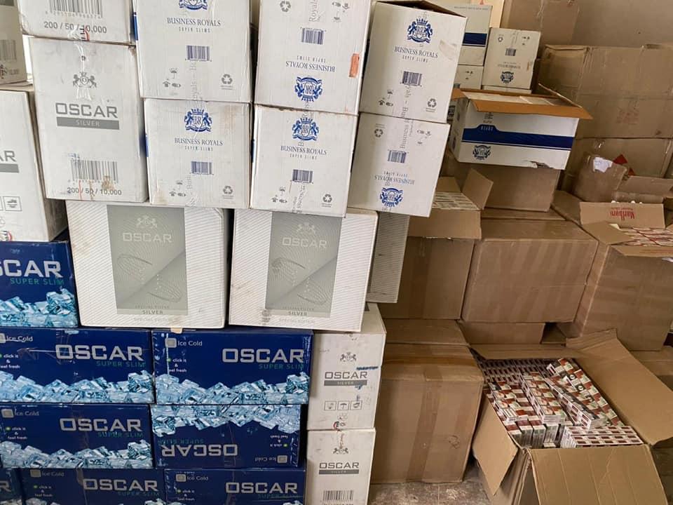В Україні перекрили канал контрабанди сигарет з ДНР: склади перебували в чотирьох областях країни
