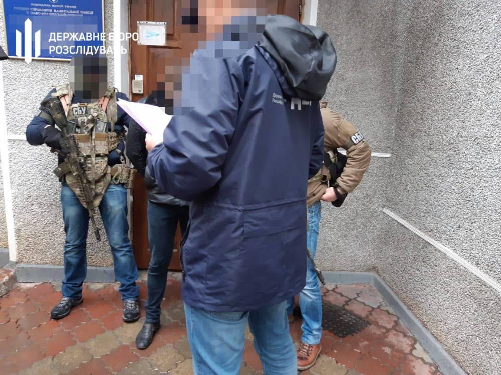 В Ивано-Франковской области на взятке поймали начальника отдела полиции
