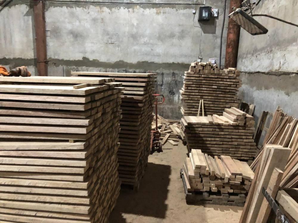 «Черные» лесорубы незаконно вырубили ценные породы деревьев в ландшафтном заказнике «Пуща-Водица»
