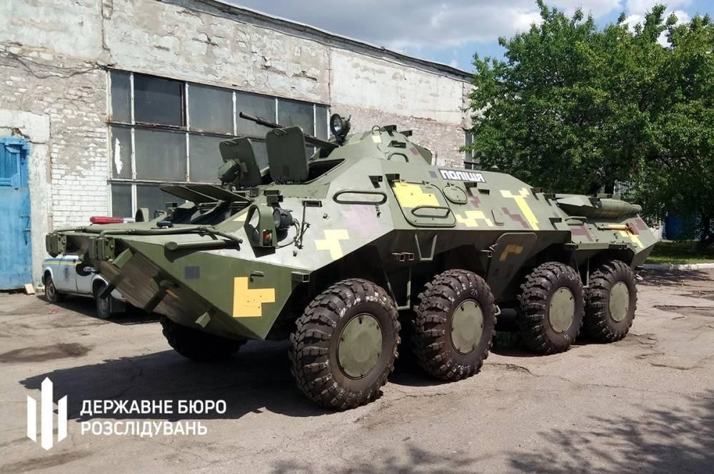 Запорожским полицейским вручили подозрение за покупку старых шин для БТР