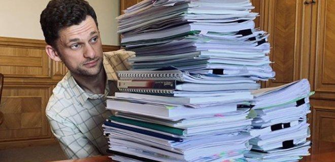 Дубилет хочет отменить отчеты обладминистраций