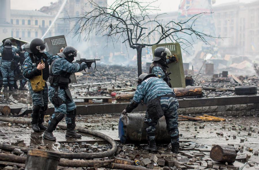 Экс-бойцу спецподразделения «Омега», участвовавшему в расстрелах на Майдане, вручили подозрение