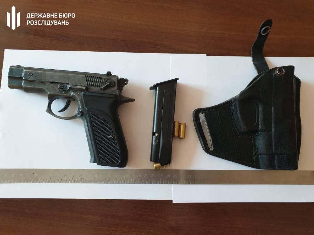 В Сарненском районе пьяный нацгвардеец потерял пистолет