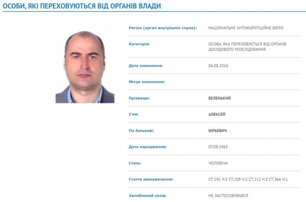 Суд разыскивает бизнесмена Беленького в Австрии и Болгарии