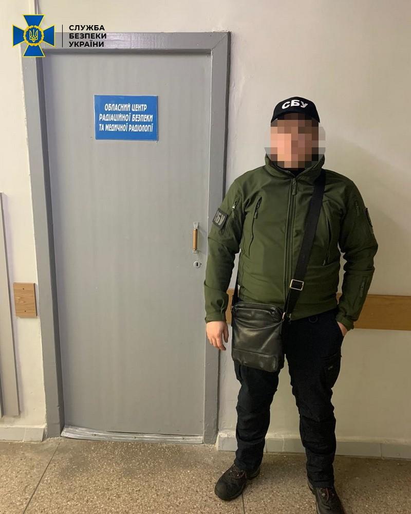 В Днепропетровской области у главы областного центра медицинской радиологии забрали полмиллиона гривен