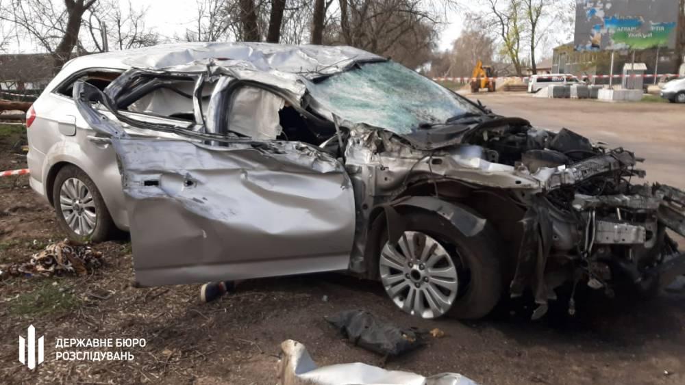 В Кировоградской области пьяный полицейский в аварии убил пассажира