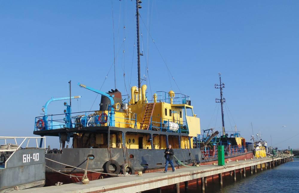 Фирму Новинского заподозрили в краже песка при дноуглублении в порту Очакова