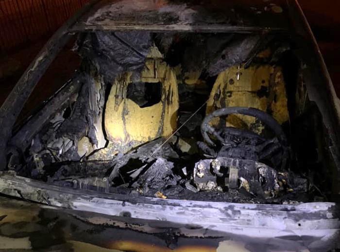 В Киеве сожгли машину главы Госэкоинспекции Фирсова