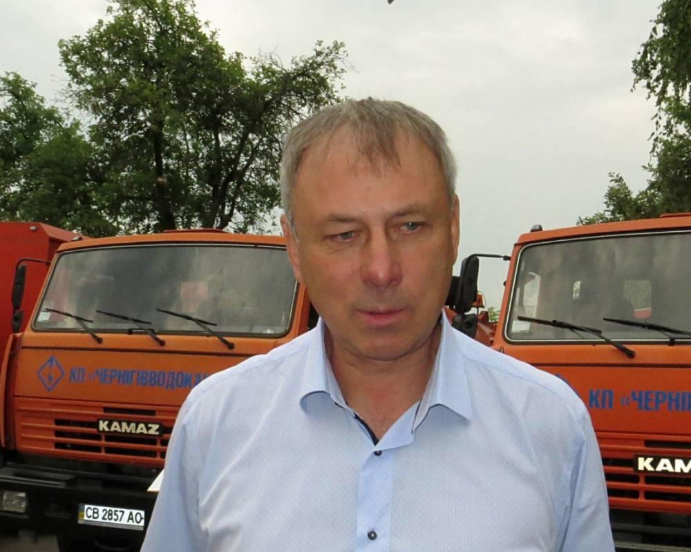 Экс-директору «Черниговводоканала» вручили подозрение в злоупотреблениях