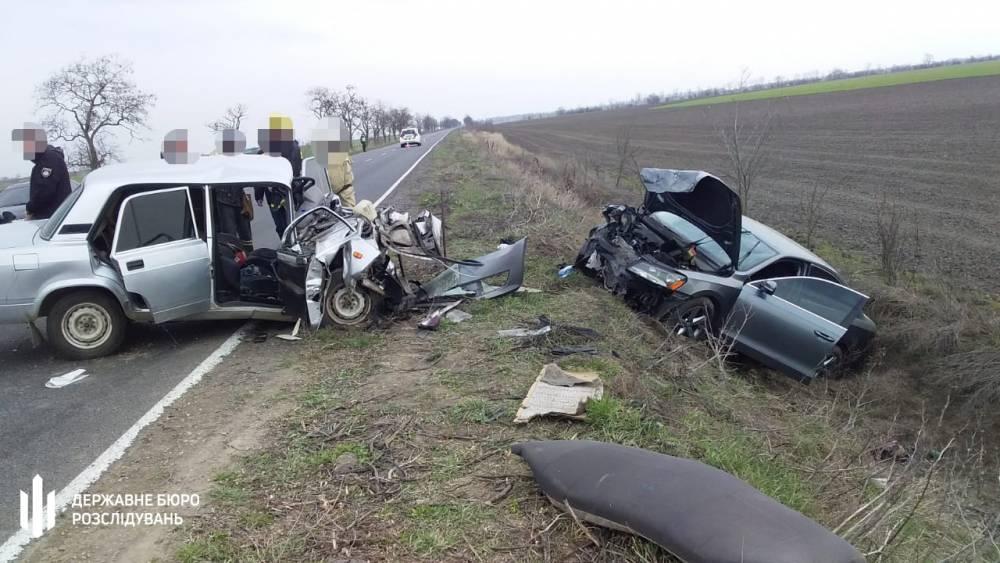 В Херсонской области в аварии погиб офицер полиции