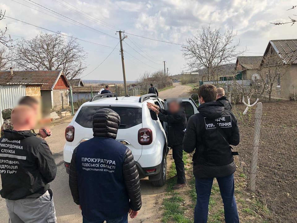 Житель Одесской области незаконно переправлял граждан через границу в Молдову