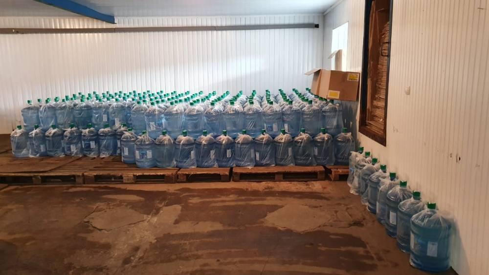 В Сумах нашли подпольный завод по производству очищенной воды