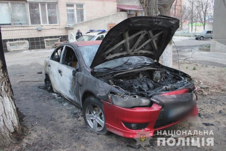 В Белгороде-Днестровском сожгли машину прокурора