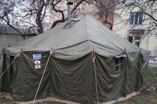 Больных коронавирусом будут сортировать в палатках, чтобы избежать внутрибольничного инфицирования