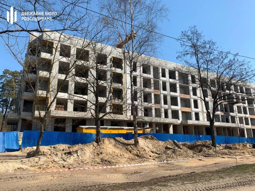 ГБР расследует незаконное строительство жилого квартала в Пуще-Водице