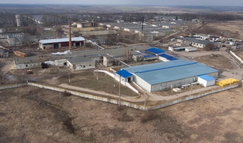 В Харьковской области без системы пожаротушения работает крупная птицефабрика