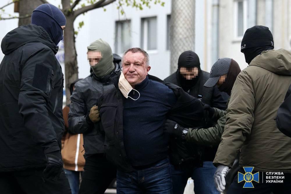 В Киеве за государственную измену задержан генерал-майор СБУ