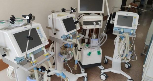 Центральный госпиталь МВД купил аппараты ИВЛ за 50 млн гривен