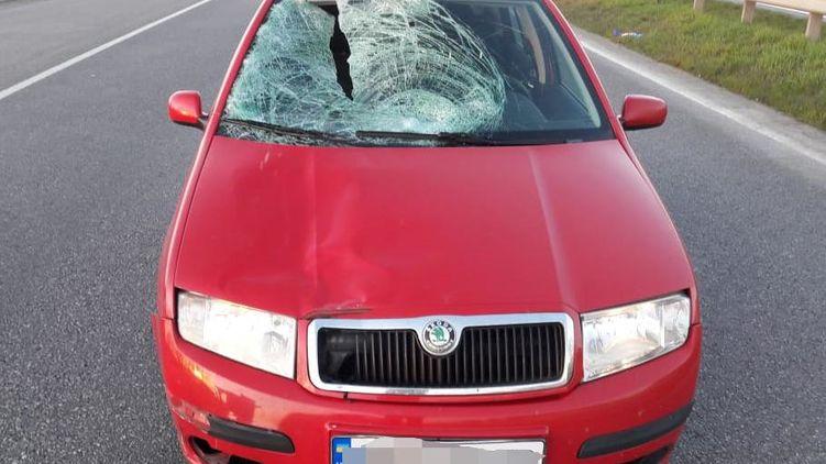 В Винницкой области полицейский сбил пешехода, перебегавшего дорогу