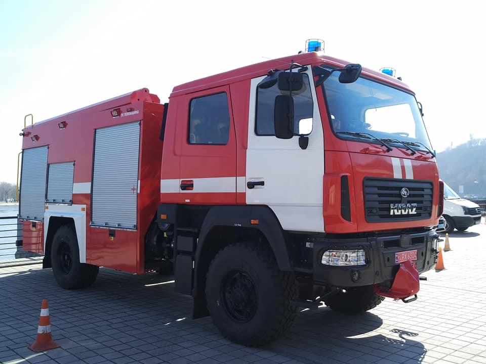 Минобороны объявило тендер на закупку пожарных машин на 200 млн гривен