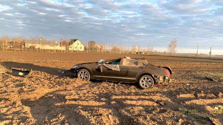 В Ровенской области в аварии погиб контрабандист