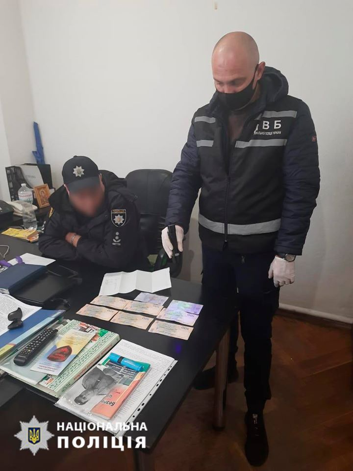 Полковника полиции в Голованевске разоблачили на взятке