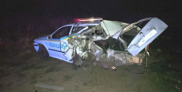 Двое ровенских полицейских попали в аварию