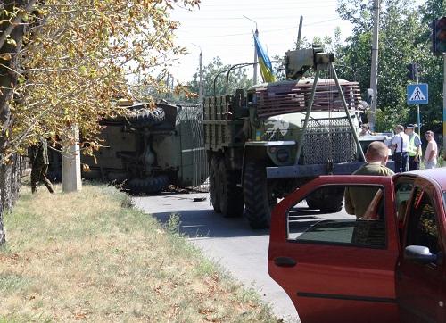 Авария бронемашины в Краматорске: водителя приговорили к 8 годам тюрьмы