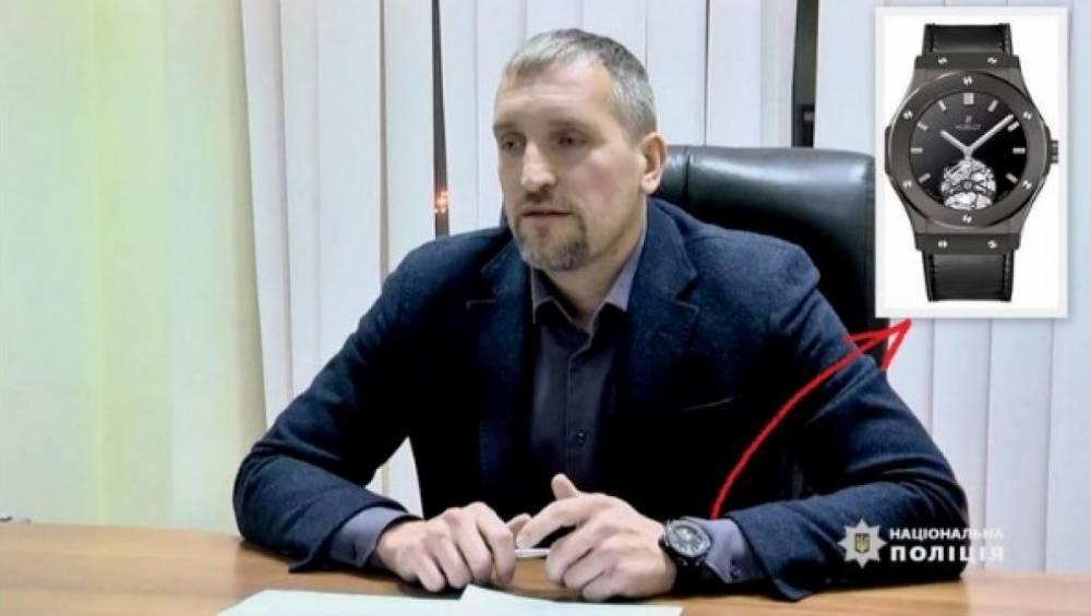 Муж генпрокурора не задекларировал часы Hublot с бриллиантами за 1,5 млн гривен