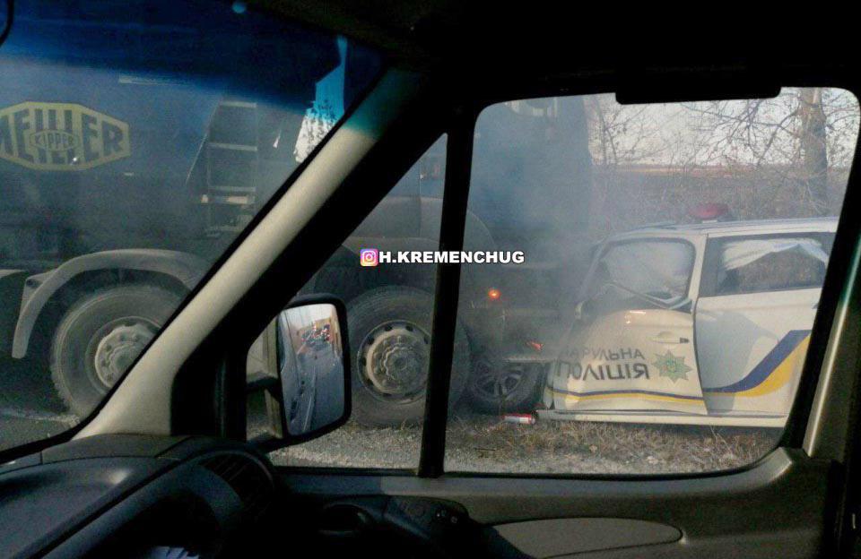 Водителя фуры, разбившего машину полицейских из Кременчуга, приговорили к условному сроку