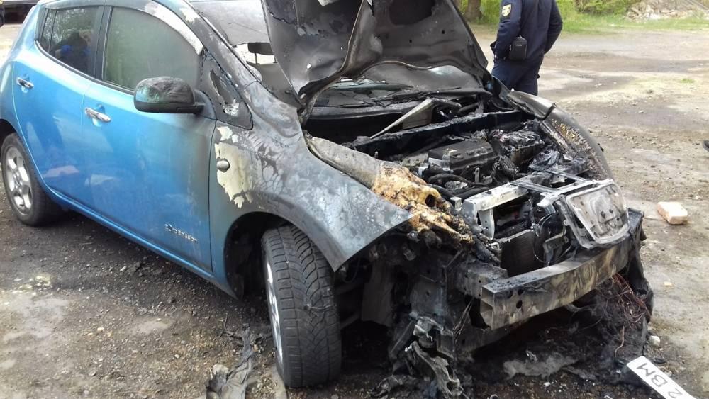 Мэру Белгорода-Днестровского подожгли автомобиль