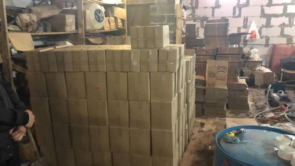 В Ирпене закрыли подпольное производство некачественного алкоголя