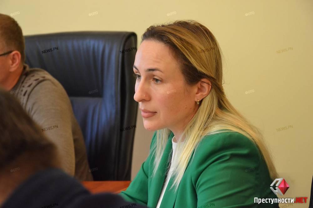 Глава Николаевского облсовета скрывает свои доходы и информацию о содержании ее помощников