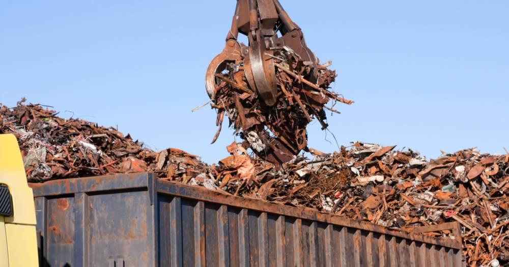 «Укрзализныця» выставила на продажу 60 тысяч тонн лома