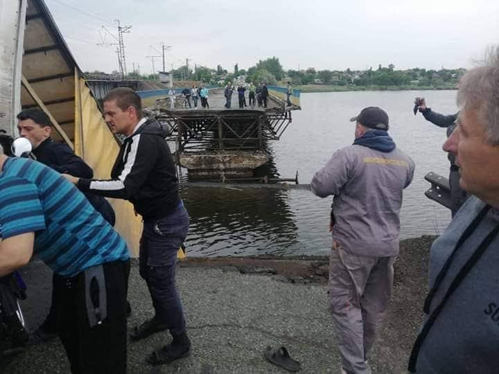 Обвалившийся мост под Никополем должен был простоять еще 12 лет — «Укравтодор»