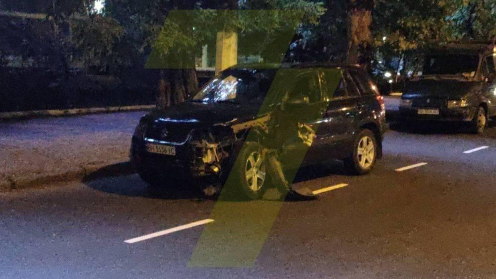 В Одессе пьяный преподаватель сбил мотоциклиста