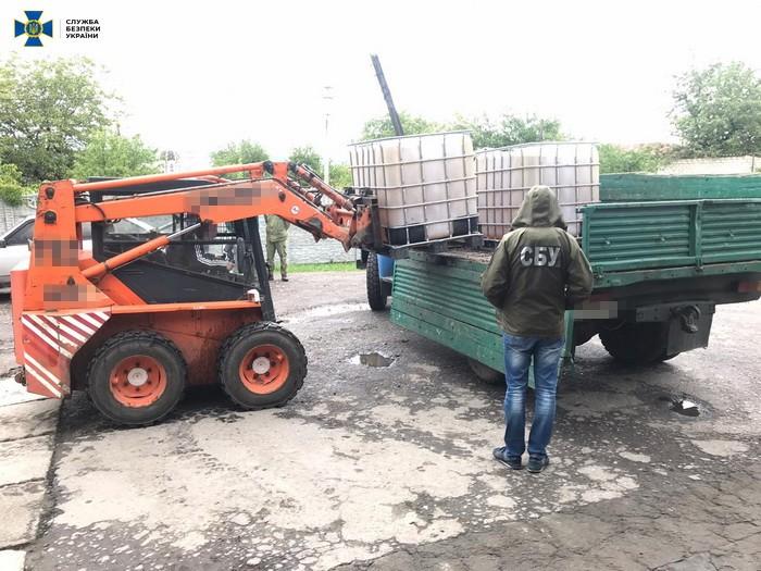 В Дружковке блокировали торговлю топливом на нелегальных АЗС