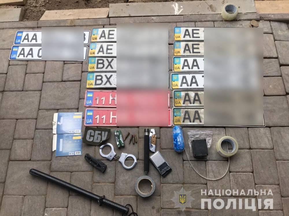 В Киевской области ликвидировали банду, куда входили офицеры СБУ и полиции