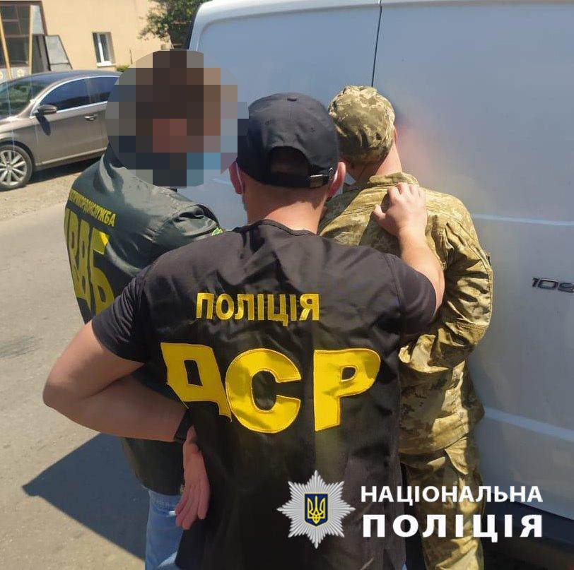 Закарпатский пограничник получил 500 евро от контрабандиста