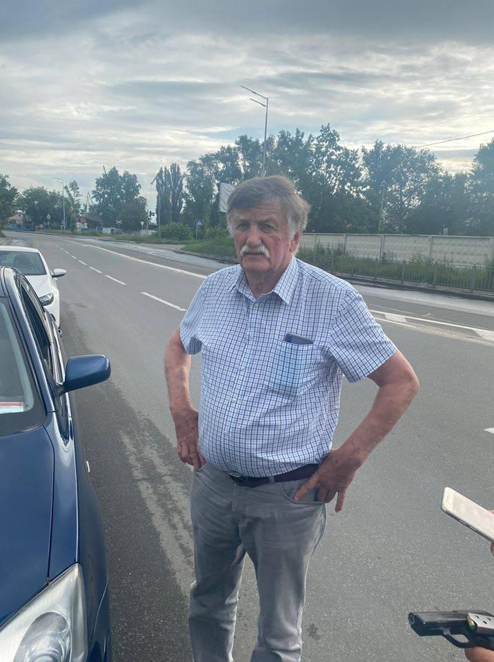 В Киеве задержали экс-чиновника «Укроборонпрома» с пистолетом, который грозился убить автомобилиста на дороге