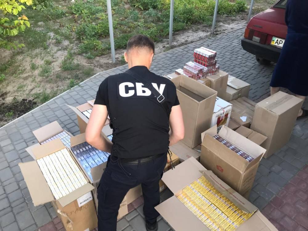 В Мелитополе разоблачили контрабанду сигарет из ОРДЛО более чем 2 млн гривен