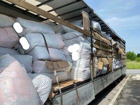 В Украину с Польши пытались провезти партию брендовой одежды на полмиллиона евро под видом стоковой