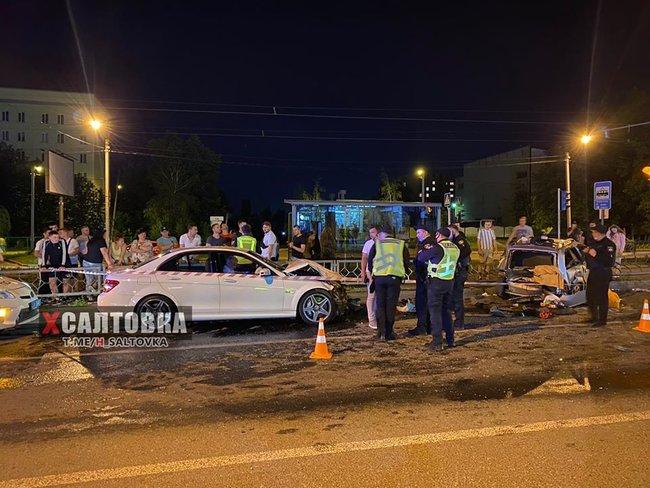 Экс-советник мэра Харькова Санин устроил пьяную аварию
