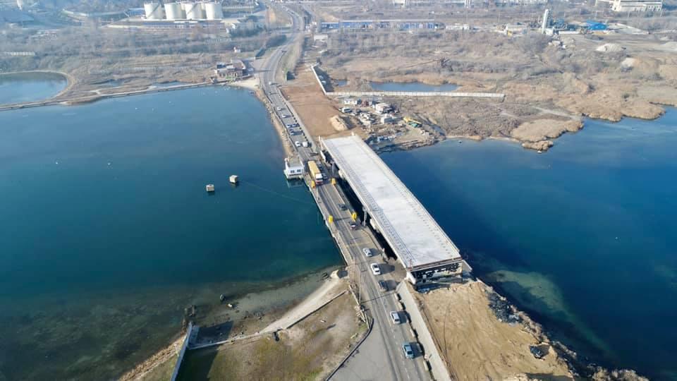 Мост через Сухой лиман, фигурировавший в коррупционных схемах, будет достраивать государство