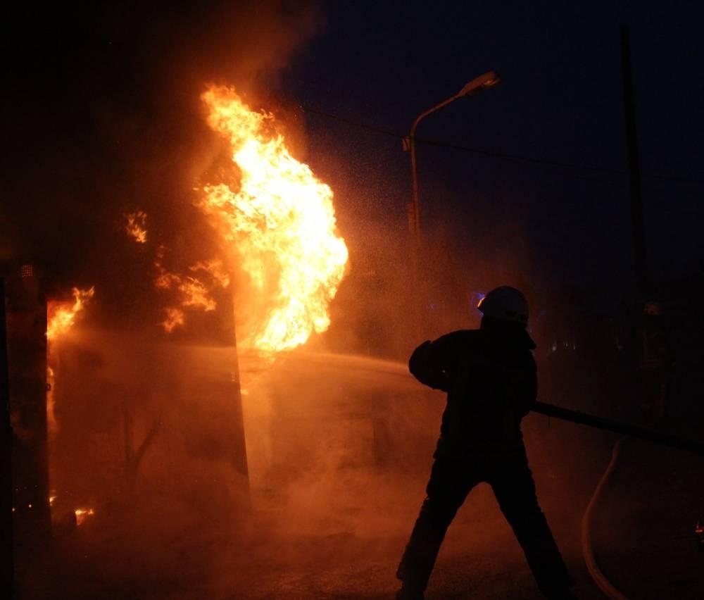 В столичном управлении Нацполиции произошел пожар