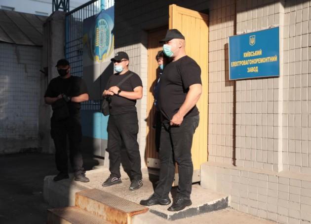 На киевском заводе «Укрзализныци» работники отказались работать из-за смены руководителя